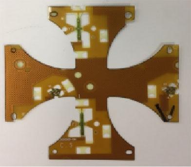 PCB 双头激光钻孔